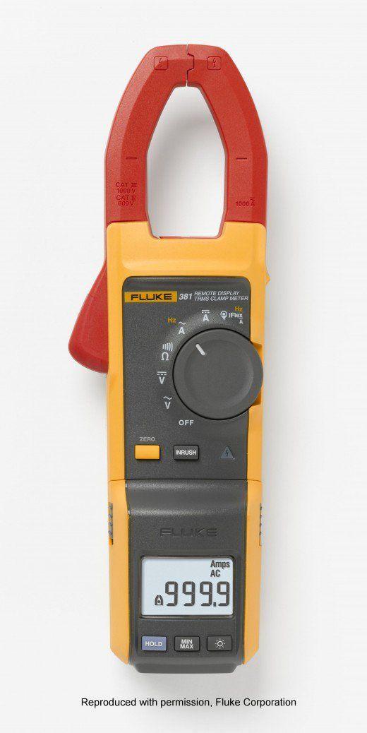Fluke 381 True RMS ACDC clamp meter Carpentry Carpentry