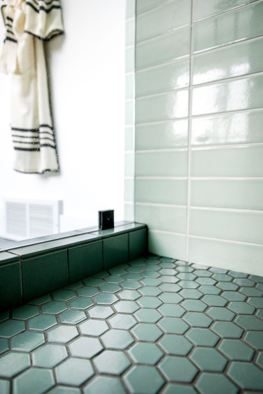 Fireclay floor tile
