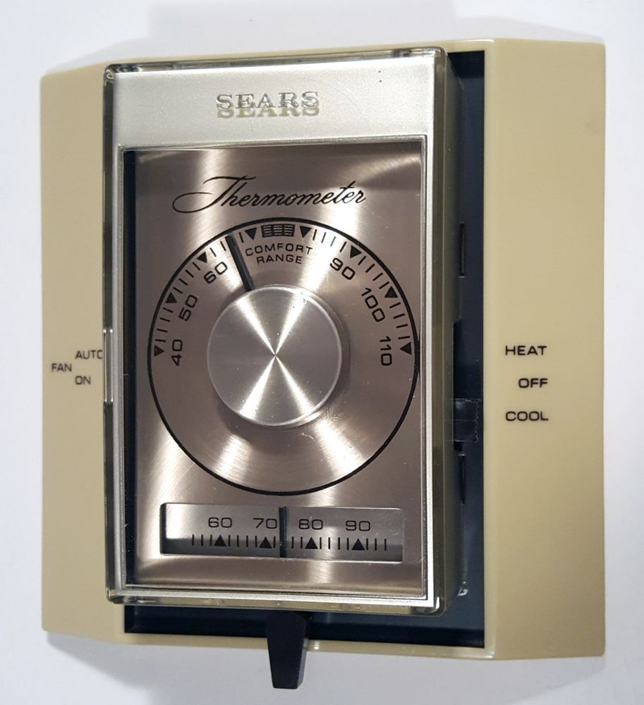 1960s thermostats Thermostat, Vintage house, Roebuck