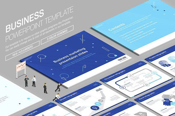 Business powerpoint template vol15 creativework247 business powerpoint template templates business powerpoint template is to require no other graphics programs like photoshopyou can by lunik studio toneelgroepblik Images