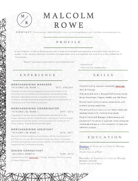 Madala Resumer And Cover Letter Template By Malcolmrowe On Etsy