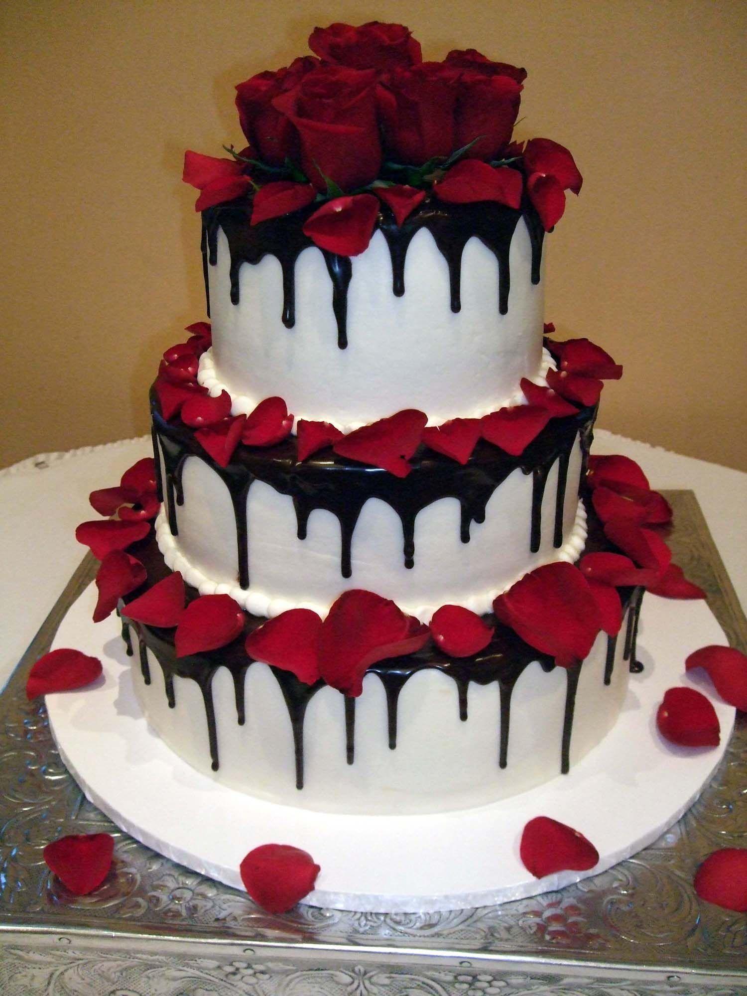 Valentine Wedding Cake Pictures Valentine S Day Wedding Round