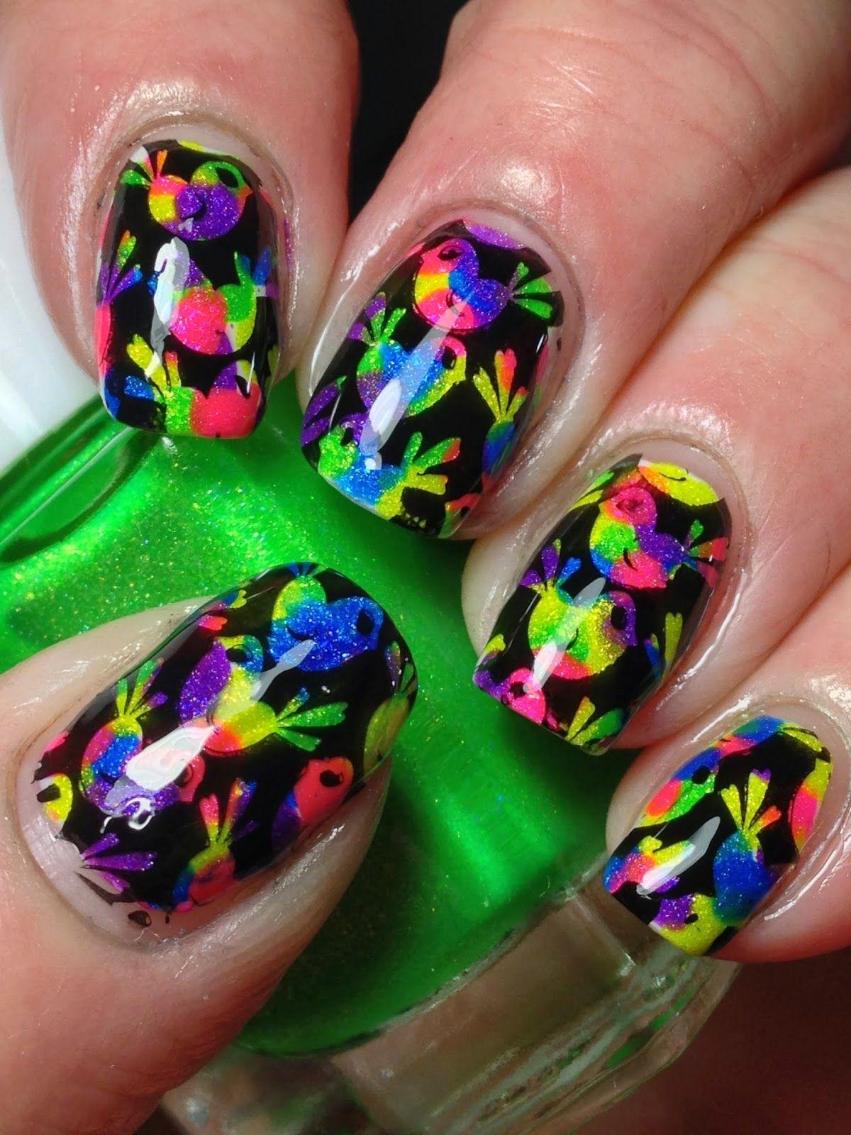Easter Chicks! | nails | Pinterest