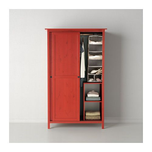 HEMNES Armoire 2 portes coulissantes - rouge - IKEA 9 Chambre - armoire ikea porte coulissante