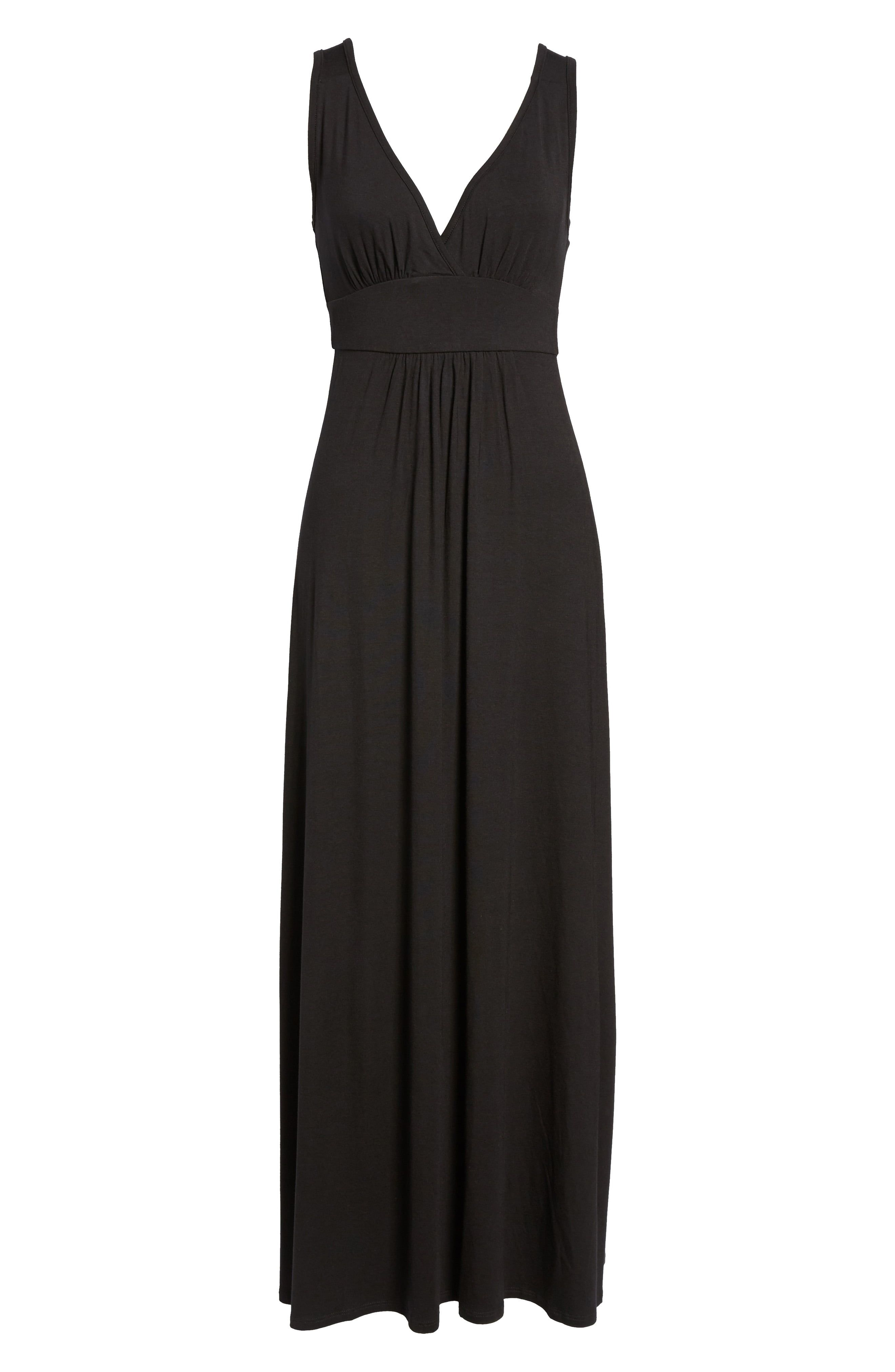 f42aa1a5f3 Loveappella V-Neck Jersey Maxi Dress in 2019