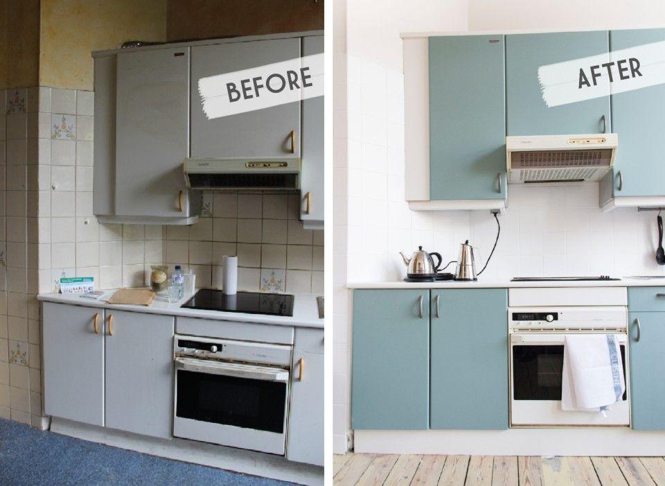 Notre cuisine avant-après   Idées pour la maison   Pinterest ...