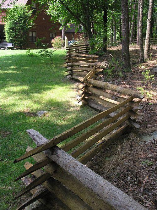 Snake Rail Fence Found On Americantimberandsteel Com Farm