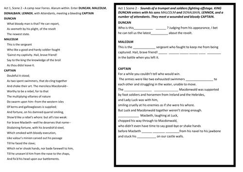macbeth - act 1 scene 7, and act 2 scene 1 and 2 essay Macbeth act 1 scene 7 quiz - test your knowledge - enotescom.