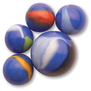 Blue Dolphin Toy Marbles 16mm Bulk Bag Marble Anabolic Steroid Easter Eggs