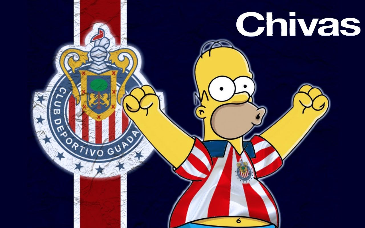 CHIVAS the best team in LA LIGA MXSimpson La liga, Teams