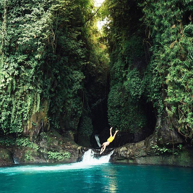 Jump into this hidden oasis in the north of Bali Hidden