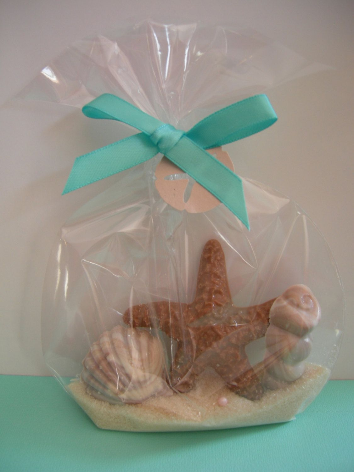 Chocolate Starfish And Sea Shell Favors For Beach By Idofavors