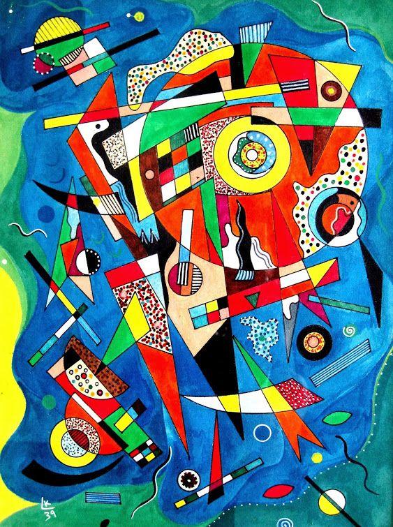 7fb4b757c8b75 by Wassily Kandinsky