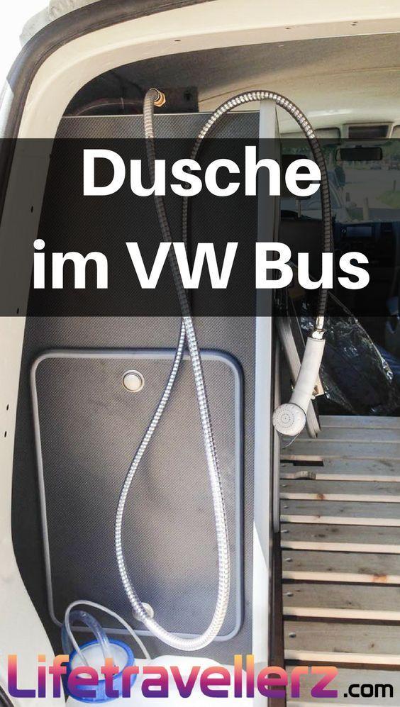 Du willst in deinen VW Bus eine Dusche einbauen und suchst