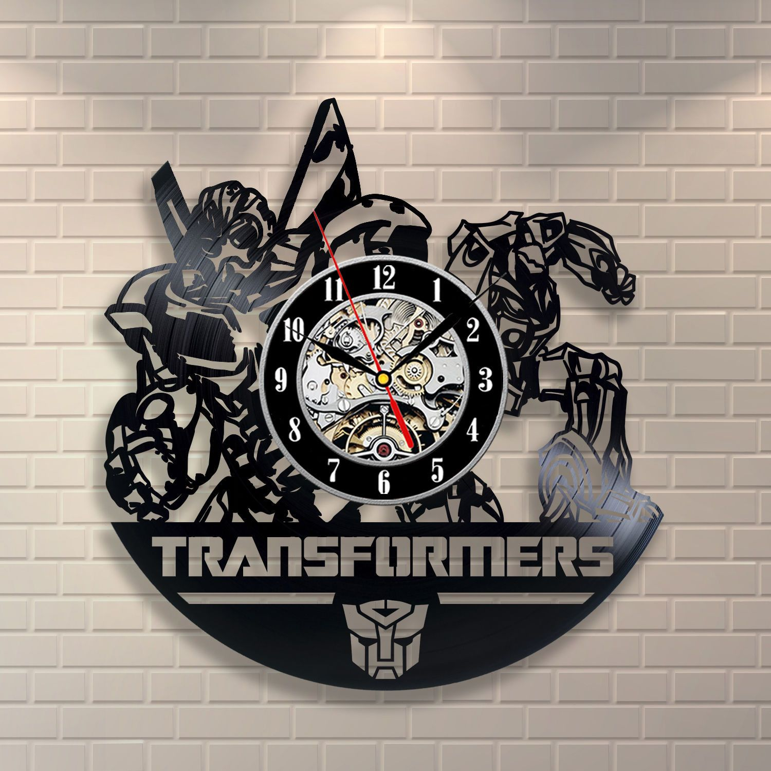 Transformers vinyl record clock want these haluuuun pinterest transformers vinyl record clock amipublicfo Choice Image