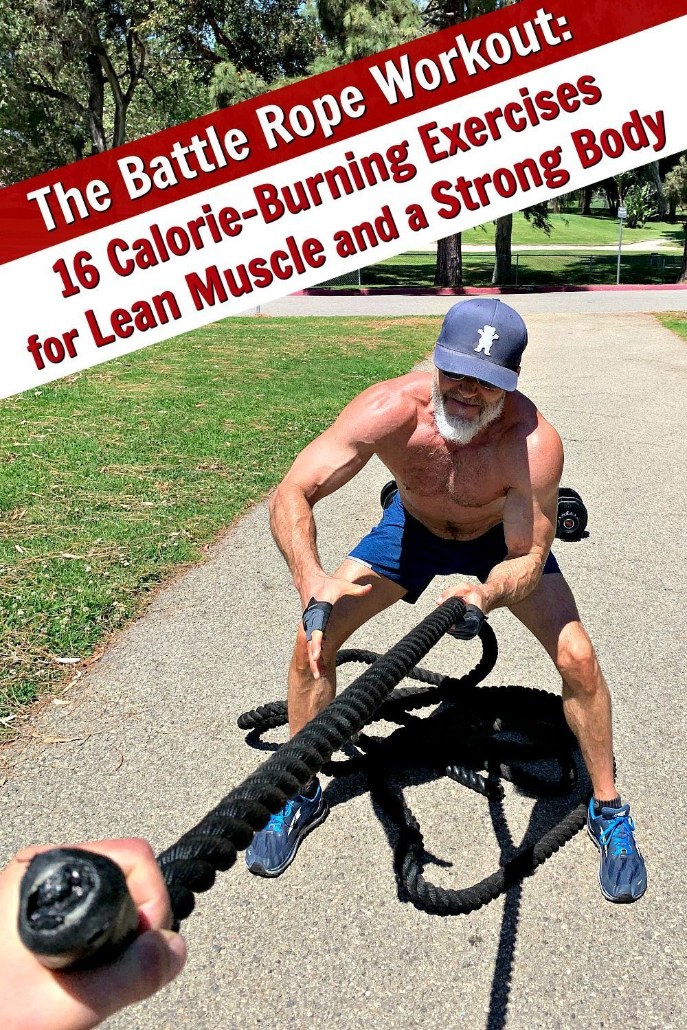 Use the battle rope strategically and you can create a body that is lean, powerful, and well-shaped....