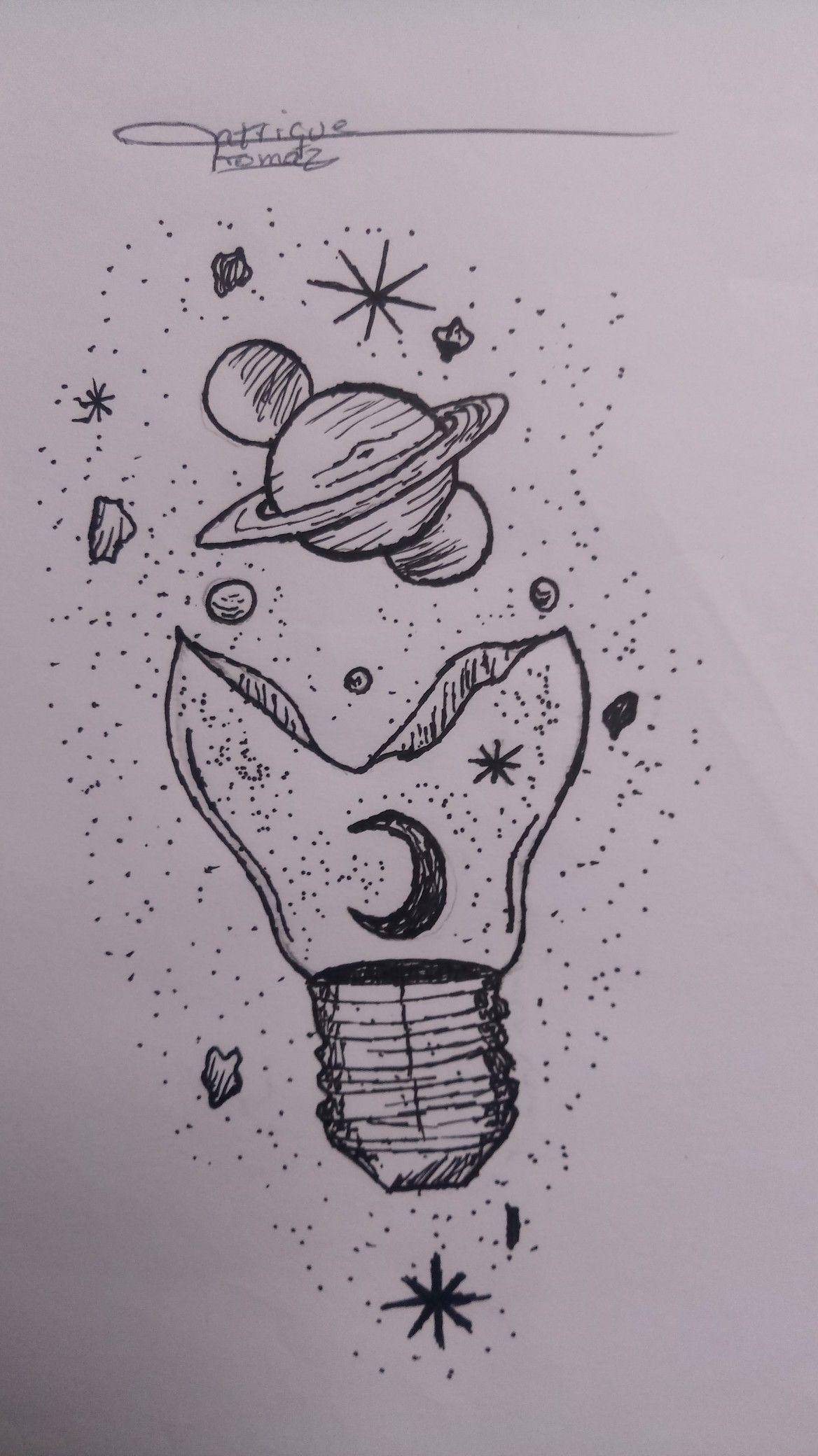 Um Universo De Ideias Estao Em Sua Mente Desenhos Aleatorios