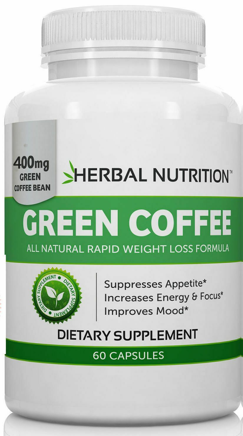 Pure Green Coffee Bean Extract MultiLevel Dosing 400mg