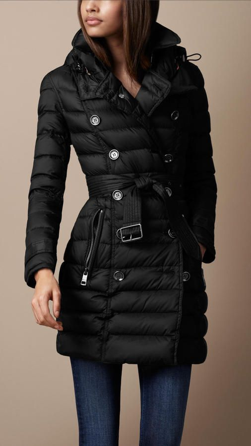 Quilted Trench Coat $795.00 thestylecure.com