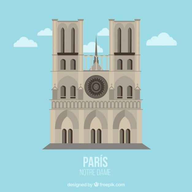 Notre Dame Ilustracao Notre Dame Vector Photo Illustration