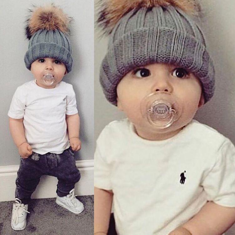 77721e2d703 Polo baby 😍 Baby Boy Beanies