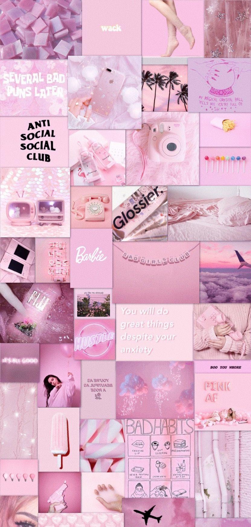 Pink Aesthetic In 2020 Iphone Wallpaper Vintage Pretty Wallpaper Iphone Pink Aesthetic