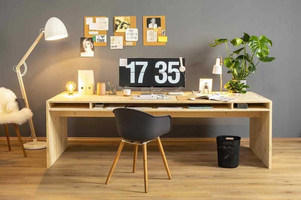 Schreibtisch Selber Bauen Holz 2021