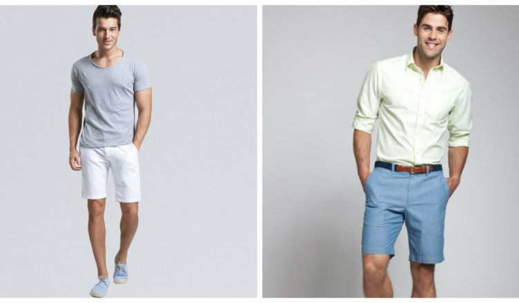 5d90687e2 Pantalones cortos hombre 2018- estilos con gusto de moda masculina  Moda   hombre
