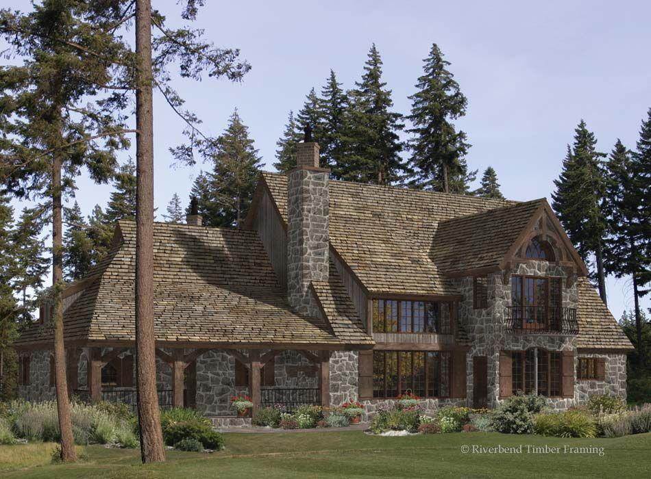 Timber Frame House Plan of Riverbend Timber Framing