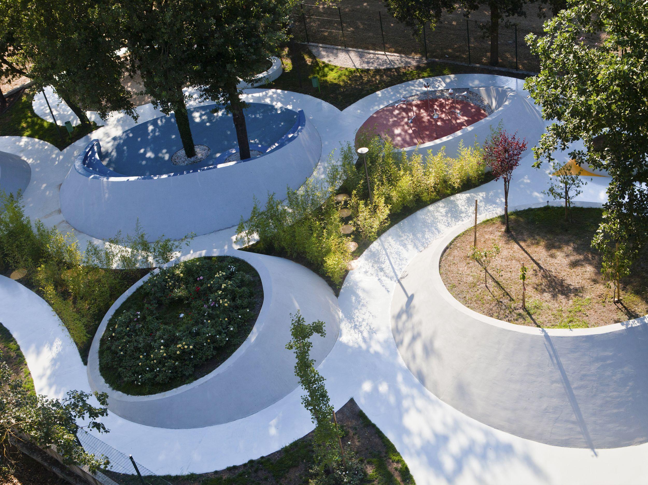 sensational design contemporary landscaping ideas. Sensational Garden  ITALY senses play relations society rights citizens Contemporary LandscapeLandscape DesignsLandscape