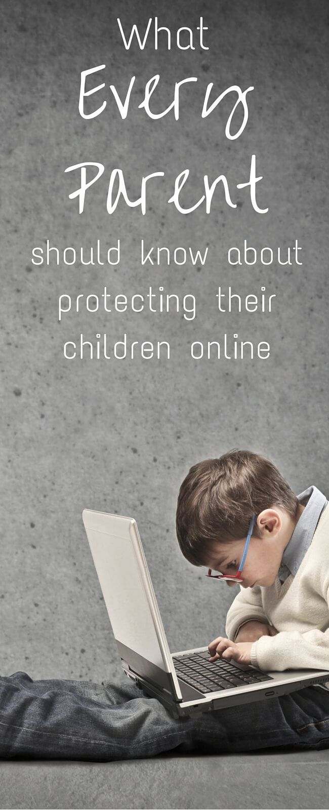 The Internet is a danger to children