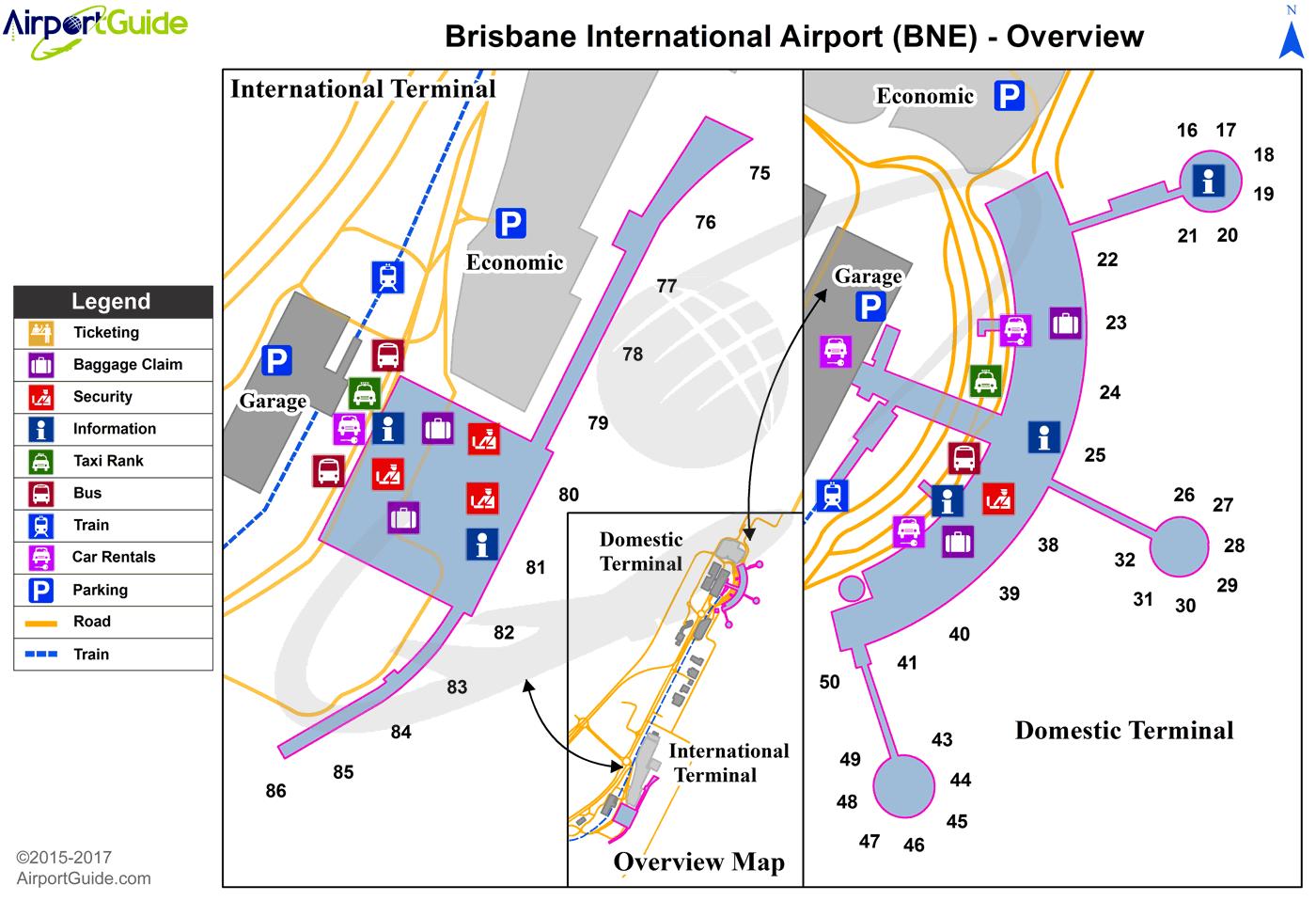 Brisbane Brisbane International (BNE) Airport Terminal