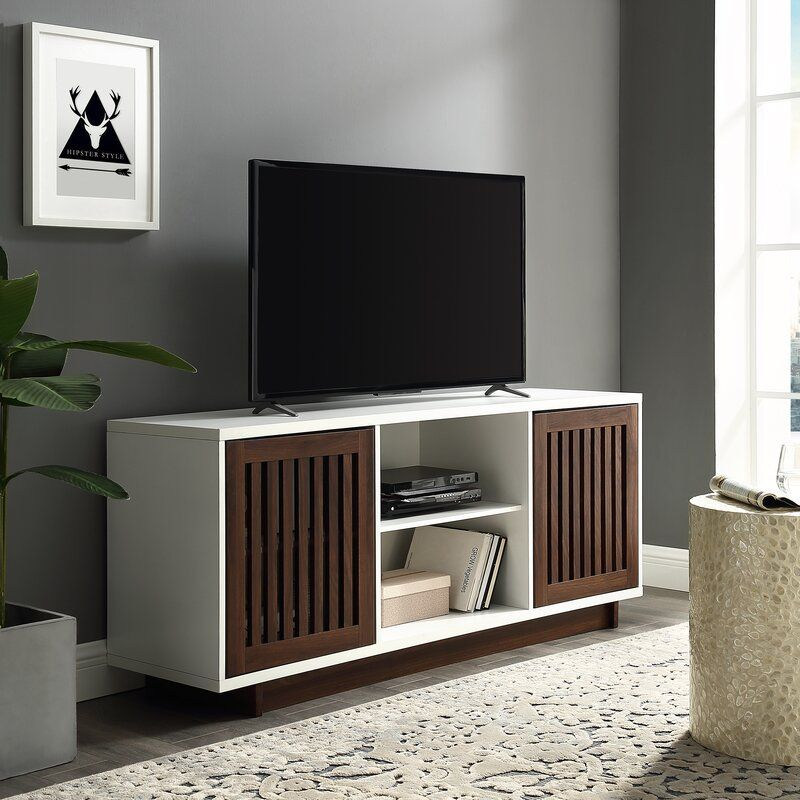 Awesome Walnut Tv Stands For Flat Screens In 2020 Home Interior