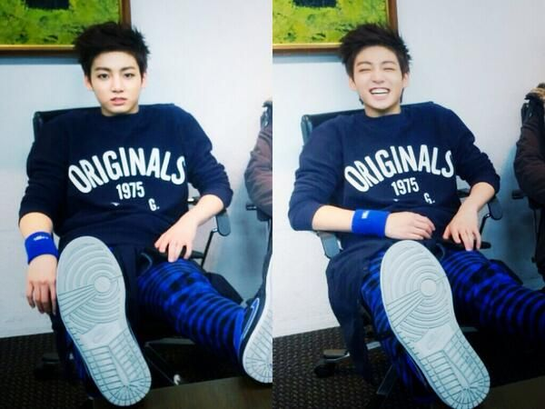 jungkook's twitter update