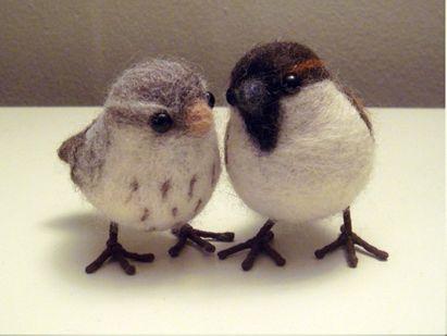 How To Needle Felted Birds Needle Felting Cheryl And