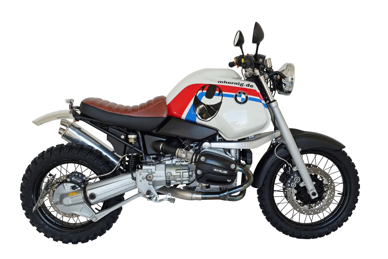 Bmw R1100gs Scrambler Conversion Based On Our R1100r Scrambler Bmw Motorcycle Accessory Hornig Individual Accessory For Y Bmw R1100gs Bmw Motorrad Bike Bmw