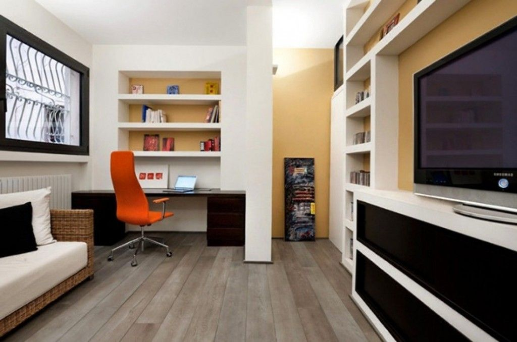 25 Stunning Modern Home Office Designs   Office designs  Orange     Here are few decorating tips with images that can help you achieve an  attractive modern home office  Checkout 25 Stunning Modern Home Office  Designs