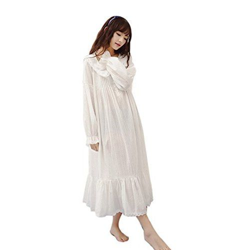 Forum Novelties Women's Medieval Chemise Costume Accessory, White, One Size (Best Fit 14/16)