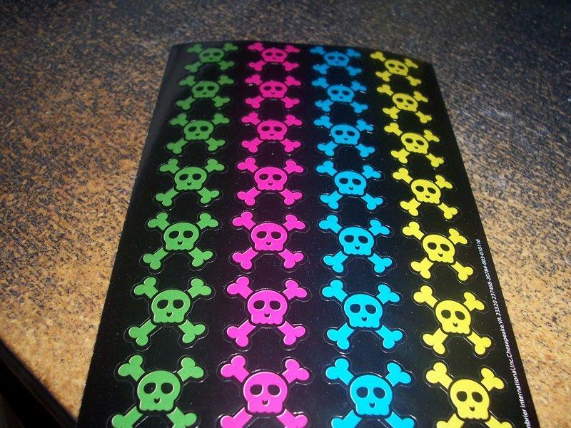 Cross Bone & Skull Stickers