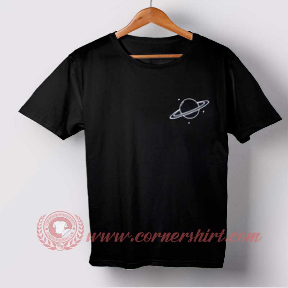 Black Saturn T-shirt //Price: $14.50//     #cheapshirts