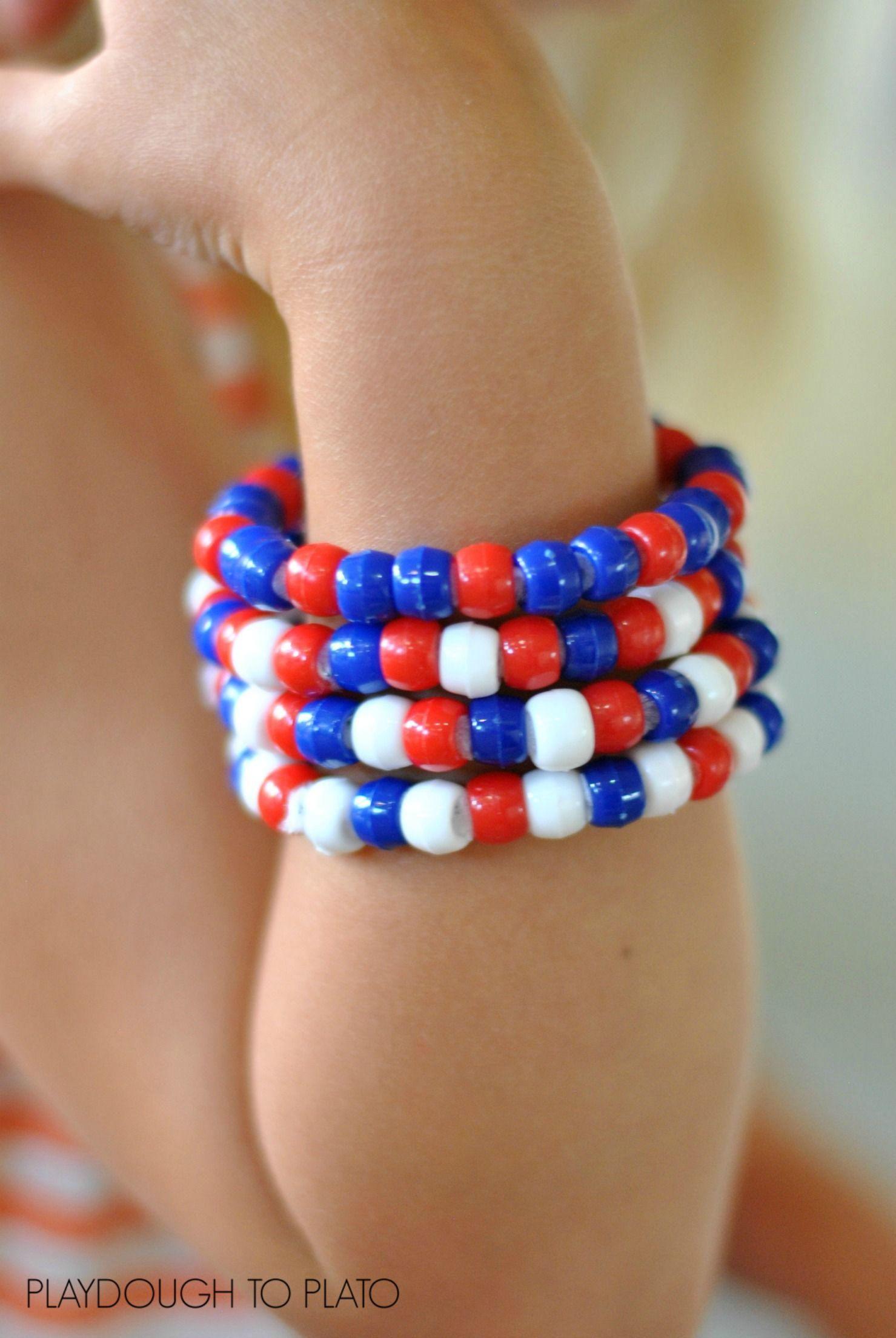 Fourth Of July Bracelets