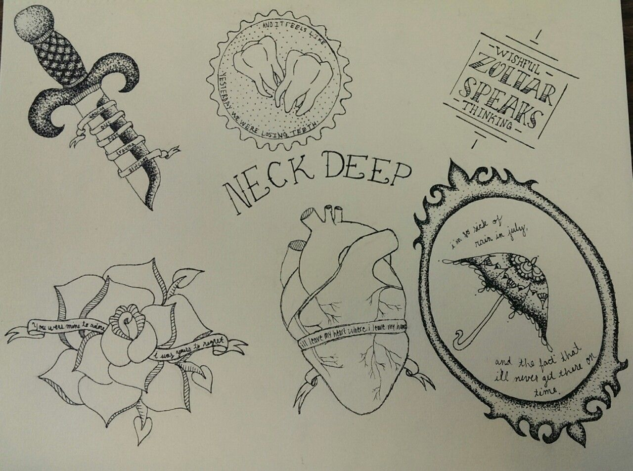 175+ Inescapable Neck Tattoo Designs and Ideas |Neck Tattoo Designs Drawings