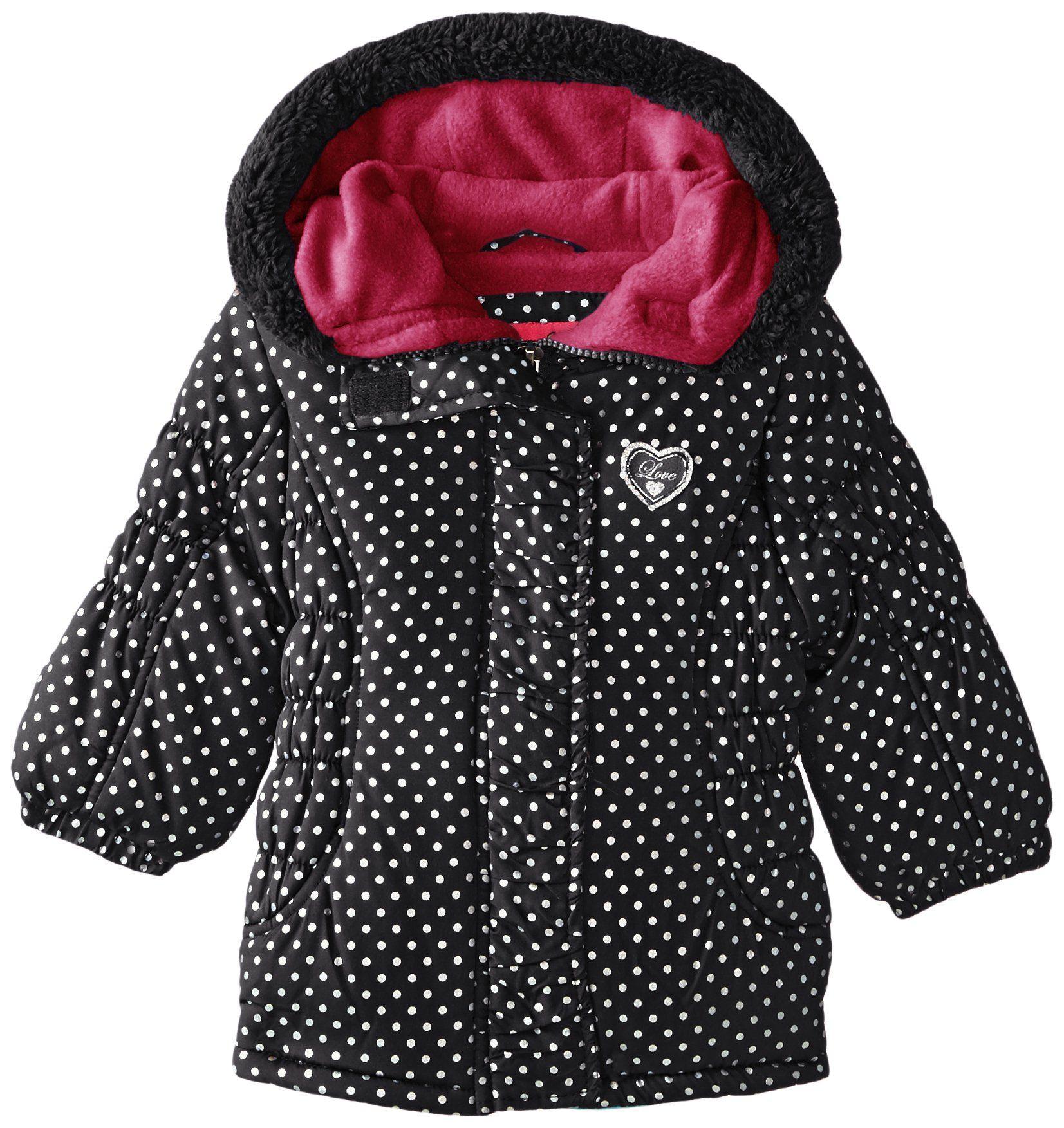 Weatherproof Baby Girls Cinch Bubble Jacket