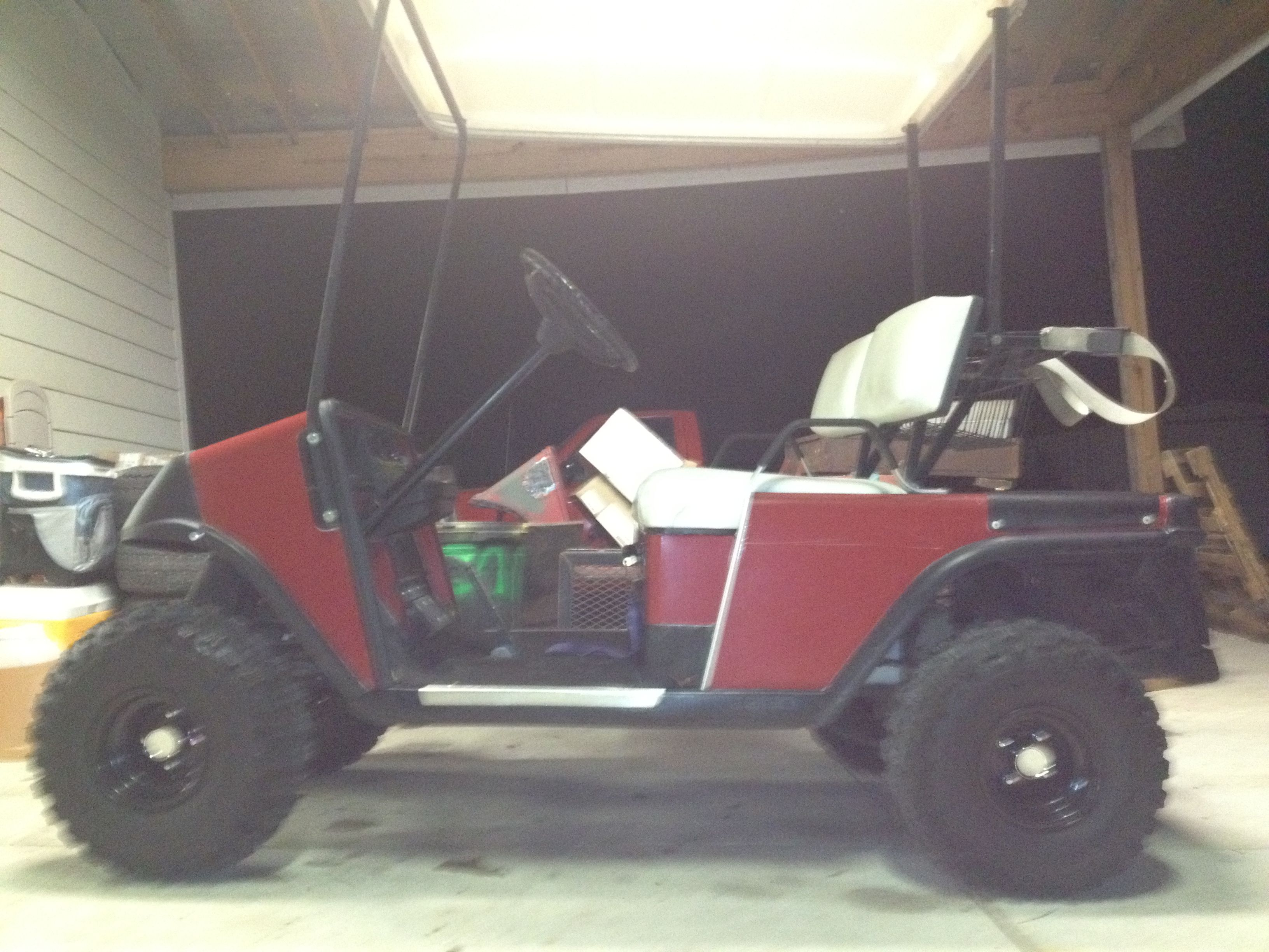 One Of A Kind Workhorse No Customs Ezgo T 2004 Mpt 800 Gas Wiring Diagram E Z Go Marathon Electric Low Budget Friese Build