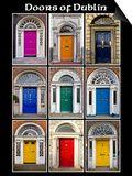 The Old Georgian Doors Of Dublin Schilderijen van Domenico Matteo