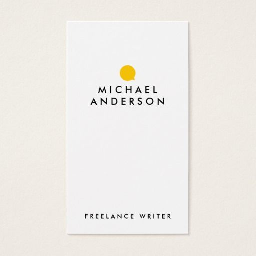 Simple modern minimalist writer business card template perfect for simple modern minimalist writer business card template perfect for author business freelance writer colourmoves