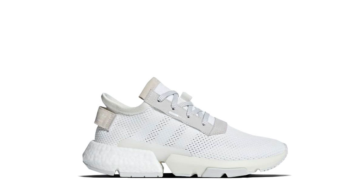 Adidas Pod S3 1 White B28089 Release 02 08 2018 Colorway Ftwr White Ftwr White Grey One Style Code B28089 Adidas Sneaker Schuhe