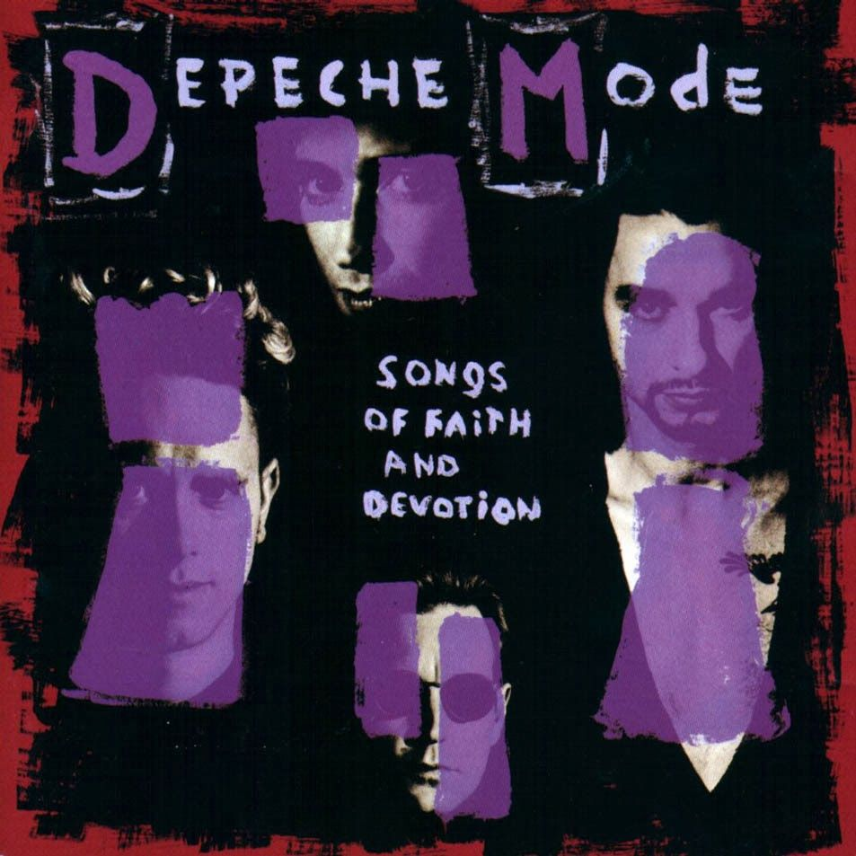 Depeche Mode Songs Of Faith And Devotion 1993 Depeche Mode Cantando Martin Gore