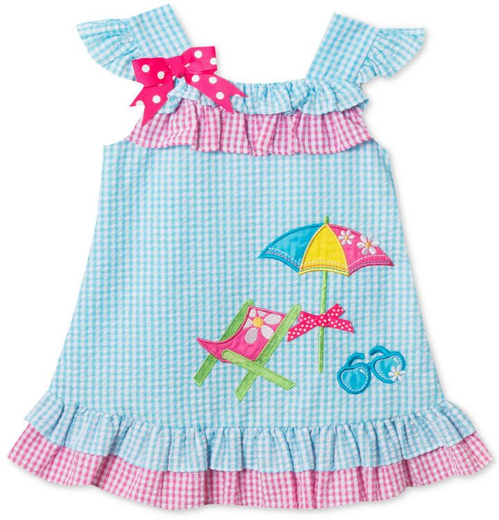 90c1a7809eed Rare Editions Beach Chair Gingham Seersucker Dress