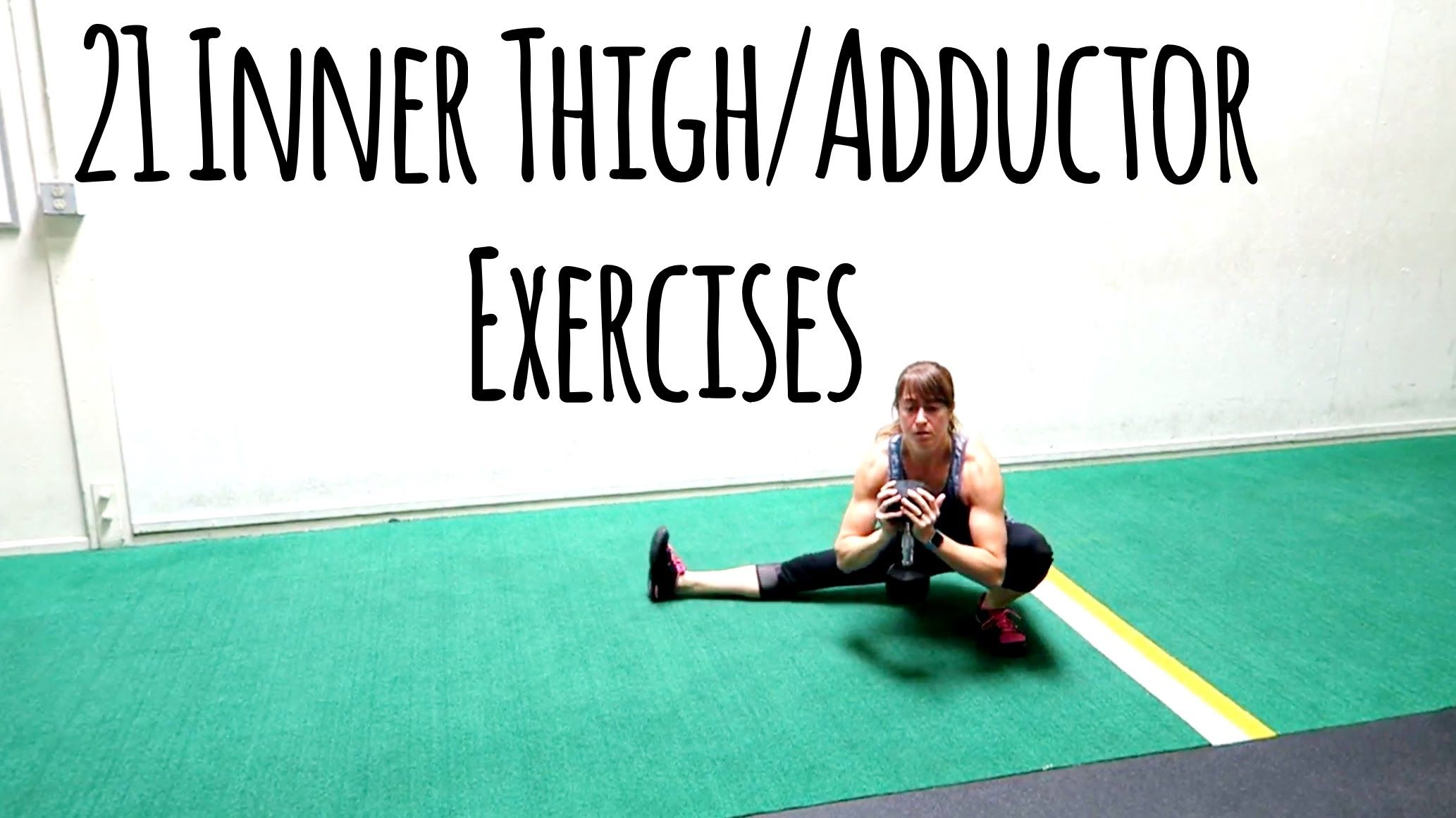 Inner thigh Exercises  Adductor Variations  Lovely Lower body